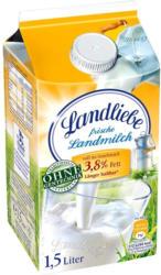Landliebe Landmilch 1,5/3,8 % Fett,  jede 1,5-Liter-Packung