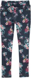 Mädchen Thermo-Leggings mit Blumen-Print (Nur online)