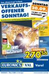 EURONICS XXL Varel GmbH Verkaufsoffener Sonntag - bis 20.09.2020