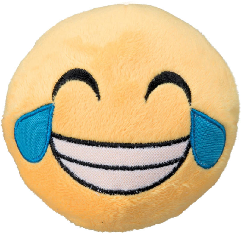 Trixie Smiley lachend D=9cm mit Quietscher