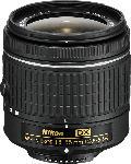 MediaMarkt NIKON AF-P DX 18 mm-55 mm f/3.5-5.6 AF-P, DX (Objektiv für Nikon F-Mount, Schwarz)