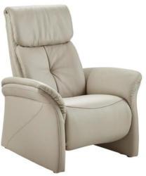 Sessel in Leder Beige