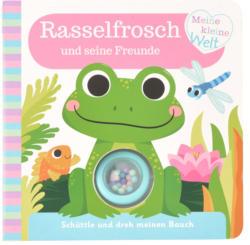 Rasselbuch Frosch