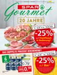SPAR Gourmet SPAR Gourmet Flugblatt - bis 30.09.2020