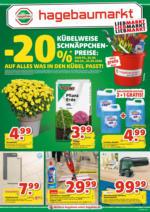 Hagebau Lieb Markt Flugblatt - gültig bis 03.10.