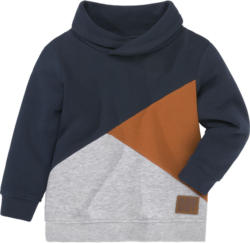 Jungen Sweatshirt mit Flächenteilern