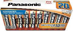 AAA Batterie LR03PPG/20CB 20er Pack