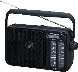 PANASONIC RF-2400 Radio (UKW, MW, Schwarz)