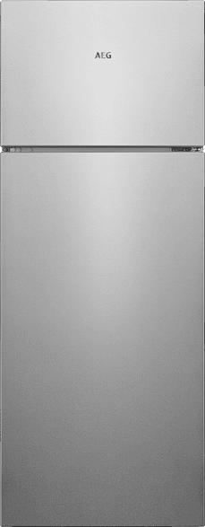 AEG RDB424E1AX  Kühlgefrierkombination (A++, 170 kWh/Jahr, 1434 mm hoch, Edelstahl-Look)