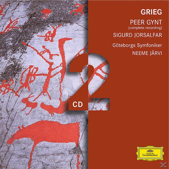 Gso, Neeme/gso Järvi - Peer Gynt Op.23/Sigurd Jorsalfar (Ga) [CD]