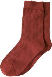 1 Paar Damen Socken mit Ajour-Muster (Nur online)