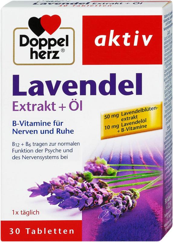 Doppelherz aktiv Lavendel Extrakt + Öl Tabletten