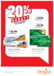 DROPA Drogerie Baden 20% Rabatt - bis 11.10.2020