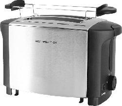 EMERIO TO-108275.1 Toaster Silber/Schwarz (800 Watt, Schlitze: 2)