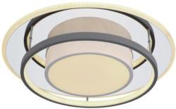 LED-Deckenleuchte Deckenleuchte D: 49 cm Grau