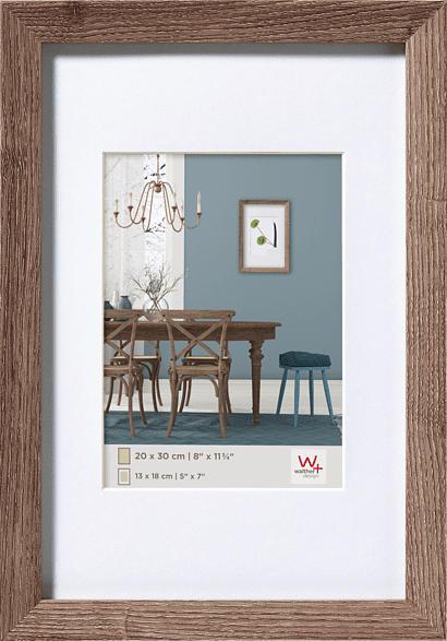 WALTHER Fiorito (20x30 cm, Nussbaum)