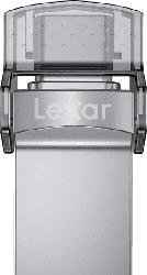 LEXAR OTG JumpDrive D35c Dual Type-C Type-A USB 3.0  128 MB