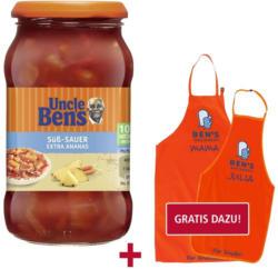 Uncle Ben's Sauce versch. Sorten,  jedes 400-g-Glas