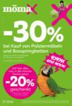 mömax Saarbrücken Minus 30 % auf Polstermöbel und Boxspringbetten - bis 03.10.2020