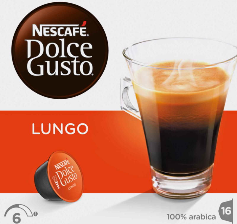 Nescafe Dolce Gusto Cafe Lungo 16 capsules -