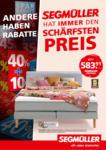 Segmüller Prospekt - bis 03.10.2020