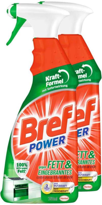 Bref Power Fett & Eingebranntes 2 x 750 ml -