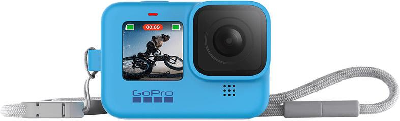 Kamerahülle und Trageband für HERO9 Blau