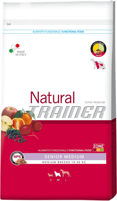 Trainer Nourriture pour chiens Natural Medium Maturity poulet 12kg