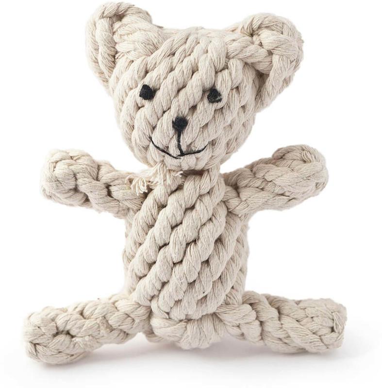 Freezack Hundespielzeug Rope Knot Bear