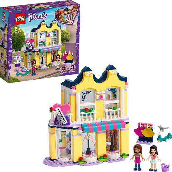 LEGO 41427 Emmas Mode-Geschäft Bausatz, Mehrfarbig