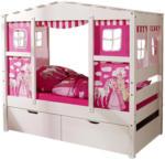 Möbelix Spielbett Lio Mini 80x160 cm Weiß