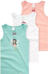 3 Mädchen Unterhemden im Set