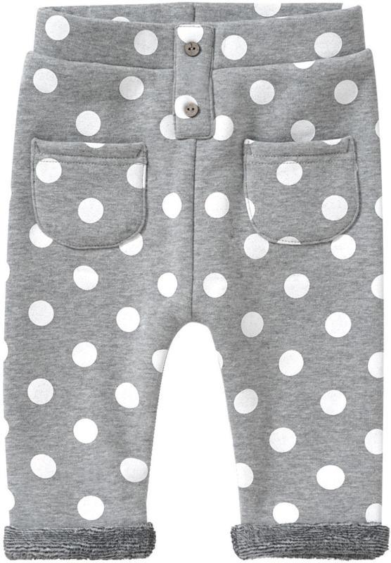Baby Joggpants mit Punkte-Allover (Nur online)