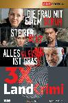 MediaMarkt Landkrimi-Set 1 Steirerblut / Die Frau mit einem Schuh / Alles Fleisch ist Gras [DVD]