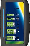 MediaMarkt Ladegerät Universal Charger - LED-Ladeanzeige - Lädt 2 oder 4 AA, AAA, C, D oder 1x 9V