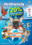 Petfriends.ch 20% Rabatt auf alles - bis 04.10.2020