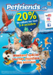 Petfriends.ch 20% de rabais sur tout - bis 04.10.2020