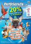 Petfriends.ch 20% di sconto valito su tutto - bis 04.10.2020