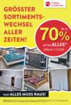 Möbel Hubacher Rausverkauf! - al 11.10.2020