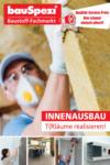 bauSpezi Baumarkt bauSpezi Baustoffe Innenausbau - bis 07.11.2020