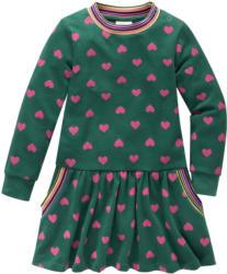 Baby Sweatkleid mit Herz-Allover (Nur online)