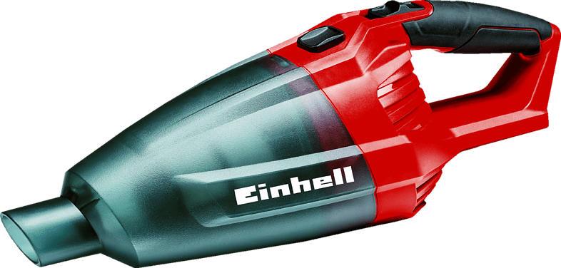 EINHELL Power X-Change TE-VC 18 Li-Solo Handstaubsauger, Rot/Schwarz/Grau