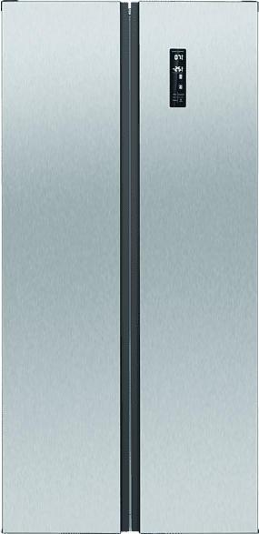 BOMANN SBS 7314 IX  Side-by-Side (347 kWh/Jahr, A++, 1785 mm hoch, Edelstahl)