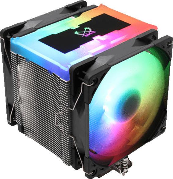 SCYTHE Mugen 5 ARGB Plus CPU-Kühler, Schwarz, Silber