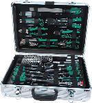 MediaMarkt MANNESMANN 29075 Werkzeugsatz 108-teilig Handwerkzeug, Grün/Schwarz