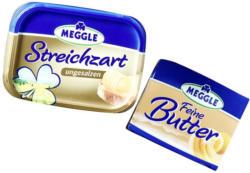 Meggle Feine Butter oder Streichzart versch. Sorten, jede 250-g-Packung