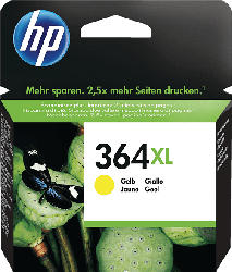 HP 364XL Tintenpatrone Gelb (CB325EE)