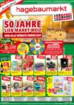 Hagebau Lieb Markt Jubiläumsflugblatt 50 Jahre - gültig bis 17.10. - bis 17.10.2020