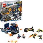 MediaMarkt LEGO 76143 Avengers Truck-Festnahme Spielset, Mehrfarbig