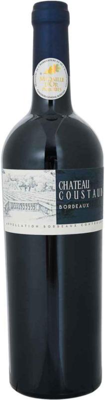Château Coustaud Bordeaux AOC - 6 pezzi